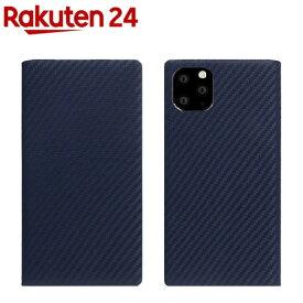 SLG Design iPhone 11 Pro Max carbon leather case ネイビー SD17941i65R(1個)【SLG Design(エスエルジーデザイン)】