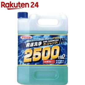 クリンビュー 瞬速洗浄カーシャンプー(2500ml)【クリンビュー】