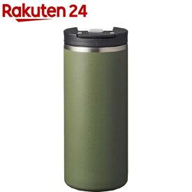 ロック付きコンビニマグ 370ml カーキ(1個)