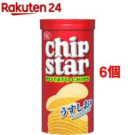 チップスター うすしお味 Sサイズ(Sサイズ 50g*6コセット)【チップスター】