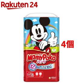マミーポコ パンツ Bサイズ(38枚入*4コセット)【3brnd-11all】【マミーポコ】