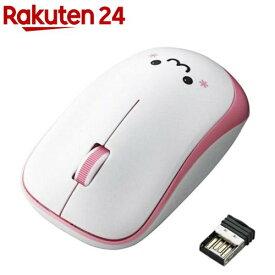 エレコム マウス ワイヤレス 3ボタン 静音 シンメトリー 省エネ ピンク M-IR07DRSPN(1個入)【エレコム(ELECOM)】