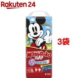 マミーポコ パンツ ビッグ大サイズ(26枚入*3コセット)【KENPO_09】【KENPO_12】【3brnd-11all】【マミーポコ】