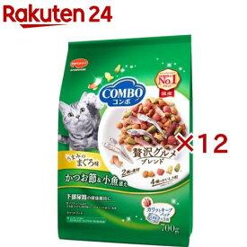 コンボ 猫下部尿路の健康維持 まぐろ味・かつお節・小魚添え(140g*5袋入*12コセット)【コンボ(COMBO)】[キャットフード]