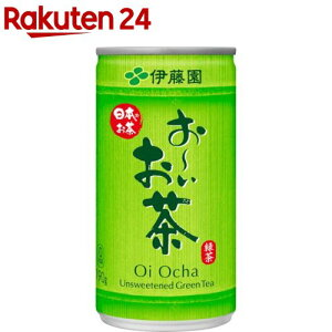 伊藤園 おーいお茶 緑茶 缶(190g*30本入)【お〜いお茶】