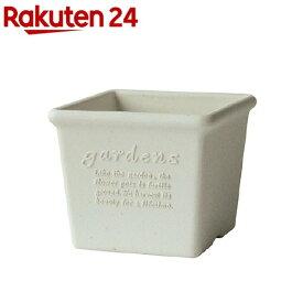 植木鉢 パピエ エコポット角型 120 WH(1コ入)