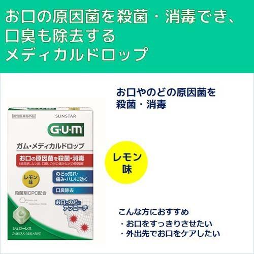 ガム(G・U・M)メディカルドロップレモン味