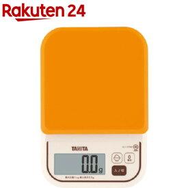 タニタ デジタルクッキングスケール オレンジ KJ-111M-OR(1コ入)【タニタ(TANITA)】