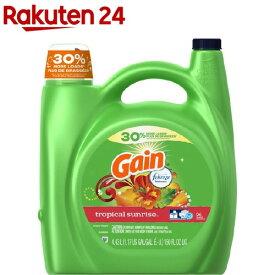 ゲイン 洗濯用洗剤 トロピカルサンライズ(4.43L)【fdfnl2019】【ゲイン(Gain)】