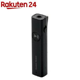 エレコム マイク搭載Bluetooth(R)レシーバー ブラック LBT-PAR02AVBK(1コ入)【エレコム(ELECOM)】
