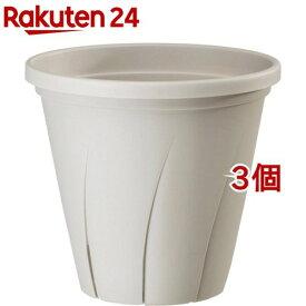 根はり鉢 6号 ホワイト(1.8L*3コセット)【大和プラスチック】