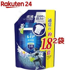 レノア 超消臭 スポーツ 抗菌ビーズ クールリフレッシュの香り つめかえ用 特大(760ml*2袋セット)【レノア】