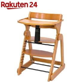 日本育児 たためる木製スマートハイチェア3 ナチュラル(1台)【日本育児】