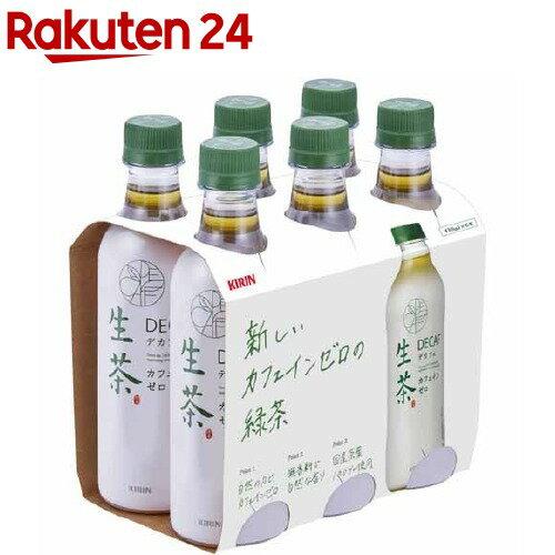 キリン 生茶 デカフェ(430mL*6本入)【生茶】