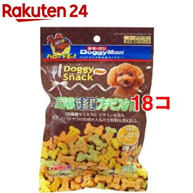 ドギーマン ドギースナックバリュー 野菜入り低脂肪プチビスケット(80g*18コセット)【ドギーマン(Doggy Man)】