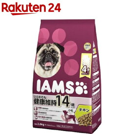 アイムス 14歳以上用 いつまでも健康維持 チキン 小粒(2.6kg)【アイムス】[ドッグフード]