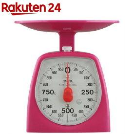 タニタ アナログクッキングスケール 1000g ピンク 1439-PK-1kg(1コ入)【タニタ(TANITA)】