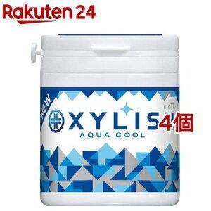 キシリッシュガム アクアクール ボトル(94g*4個セット)【meijiAU01】【キシリッシュ】