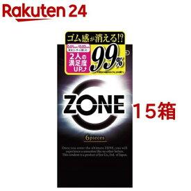 コンドーム ZONE(ゾーン)(6個入*15箱セット)