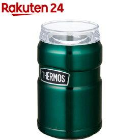 サーモス アウトドア 保冷缶ホルダー 350ml缶用 ROD-002 PGR パイングリーン(1個)【サーモス(THERMOS)】