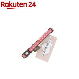 ウィッティガーデン 水玉 首輪 2S ピンク(1コ入)【ウィッティガーデン】
