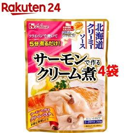 北海道クリーミーソース サーモンで作るクリーム煮(250g*4袋セット)