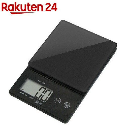 ドリテック デジタルスケール ストリーム 2kg ブラック KS-245BK(1セット)【ドリテック(dretec)】