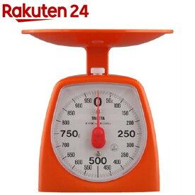 タニタ アナログクッキングスケール 1000g オレンジ 1439-OR-1kg(1コ入)【タニタ(TANITA)】
