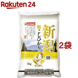 令和元年度産 新潟県産コシヒカリ(国産)(5kg*2袋セット/10kg)【おくさま印】