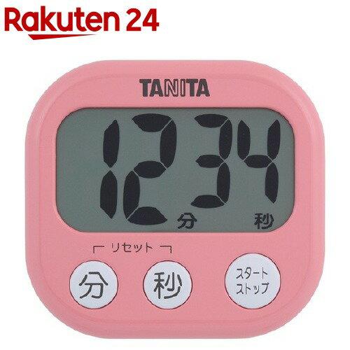 タニタでか見えタイマーフランボワーズピンクTD-384-PK