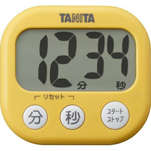 タニタでか見えタイマーマンゴーイエローTD-384-MY