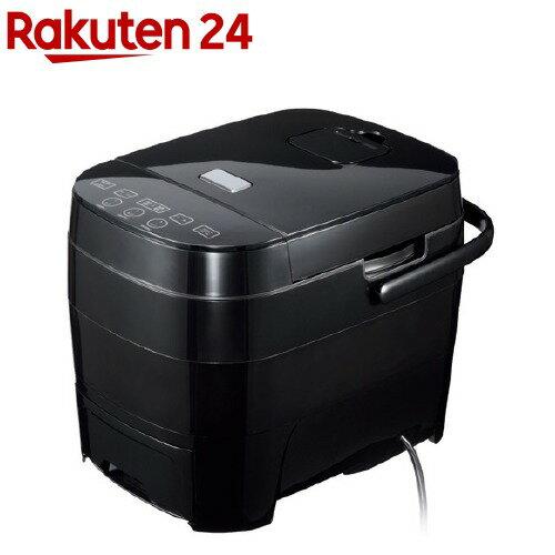ヒロ・コーポレーション 糖質カット炊飯器 HTC-001BK ブラック(1台)