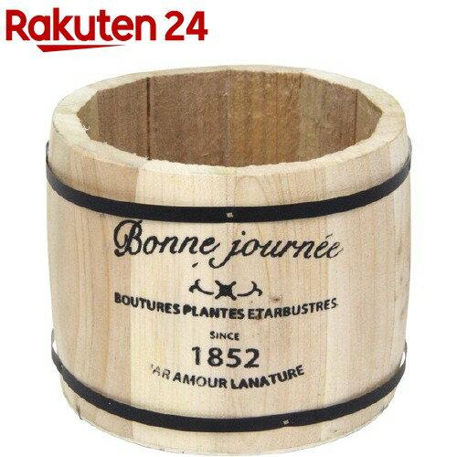 グリーンハウス ロゴウッドプランター 樽 S 3078-C-N ナチュラル(1コ入)【グリーンハウス(ガーデニング用品)】