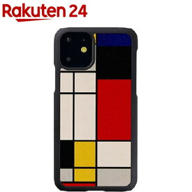 マン&ウッド iPhone 11 天然木ケース Mondrian Wood I16848i61R(1個)【マン&ウッド(Man&Wood)】