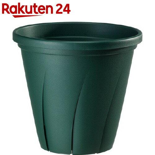 根はり鉢 10号 ダークグリーン(9.6L)【大和プラスチック】
