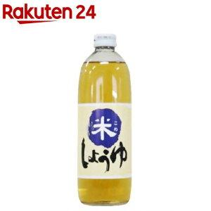 米しょうゆ(500ml)【大高醤油】[醤油]