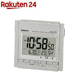 カシオ 電波置時計 シルバー DQD-705J-8JF(1コ入)