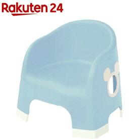 ミッキーマウス ララチェア ライトブルー(1個)【ララチェア】