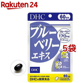 DHC ブルーベリーエキス 60日分(120粒入*5個セット)【DHC サプリメント】