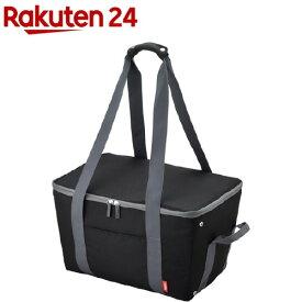 サーモス 保冷 買い物カゴ用バッグ ブラック REJ-025(1コ入)【サーモス(THERMOS)】[エコバッグ]