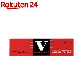 トンボ 赤鉛筆 8900V 朱 8900-V(12本入)