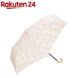 w.p.c 折りたたみ傘 フラワーレース mini 手開き ピンク 50cm 475-018(1本入)【w.p.c】