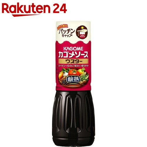 カゴメ 醸熟ソース ウスター(500mL)【カゴメソース】