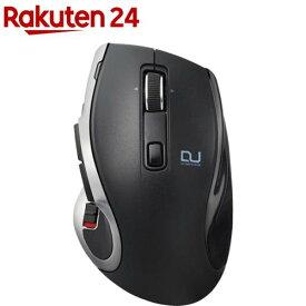 エレコム マウス ワイヤレス ハードウェアマクロ搭載 2台切替 ブラック M-DC01MBBK(1個)【エレコム(ELECOM)】