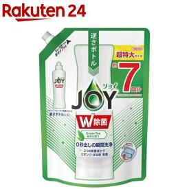 除菌ジョイ コンパクト 食器用洗剤 緑茶の香り 詰め替え 超特大(960ml)【ジョイ(Joy)】