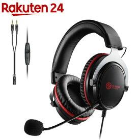 エレコム ゲーミング ヘッドセット PS4 Switch マイク付 有線 ブラック HS-G40BK(1セット)