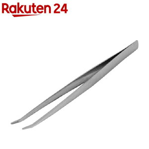 SK11 精密用 ステンレスピンセット ST-4 曲 150mm 先太先短(1本)【SK11】