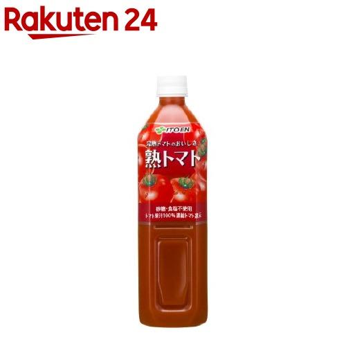 伊藤園 熟トマト(900g*12本入)【イチオシ】【ichino11】[トマト ジュース 野菜ジュース]
