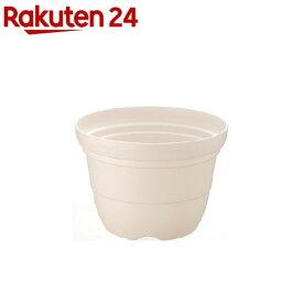 カラーバリエ 輪鉢 5号 ホワイト(1コ入)【カラーバリエ】