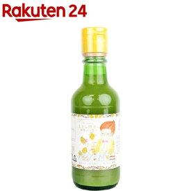 有機レモン果汁 100%ストレート(200ml)【イチオシ】【org_4_more】【かたすみ】
